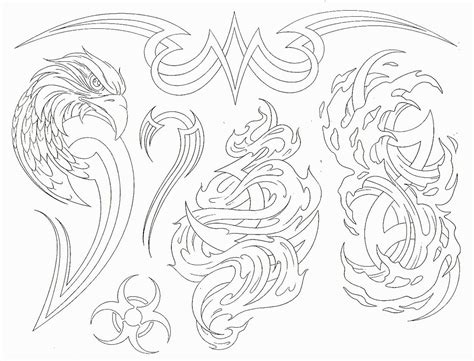 tribal outline tattoo designs sketch november 2011
