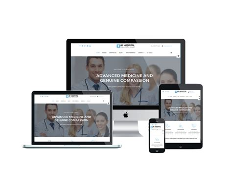 free joomla template creator software at hospital free hospital joomla template