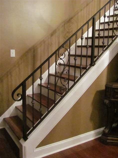 indoor banisters and railings indoor stair railing half wall joy studio design gallery