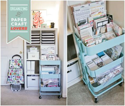 ikea raskog cart organization ikea cart craft room ideas pinterest