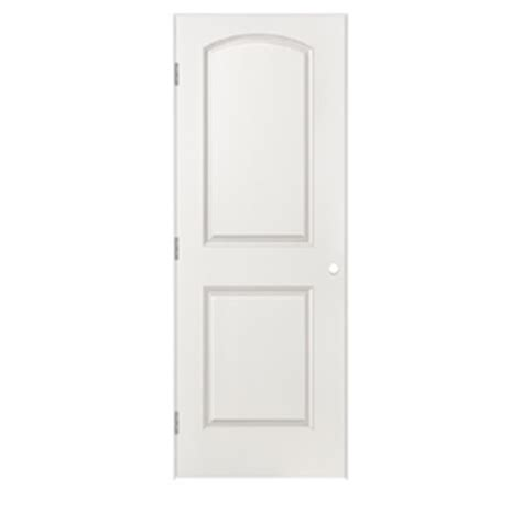 Lowes Prehung Interior Doors by Shop Reliabilt Prehung Hollow 2 Panel Top Interior Door Common 30 In X 80 In