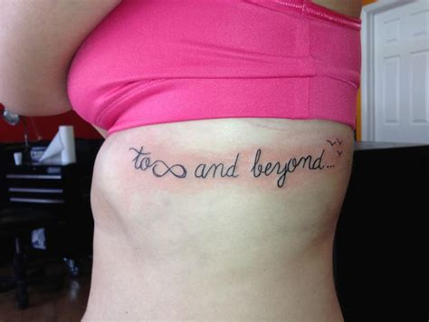 tattoo infinity and beyond to infinity and beyond tattoo tattoo ideas pinterest