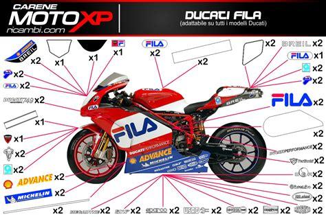 Ducati Fila Aufkleber by Grafiken Ducati Sbk Fila Superbike Racing