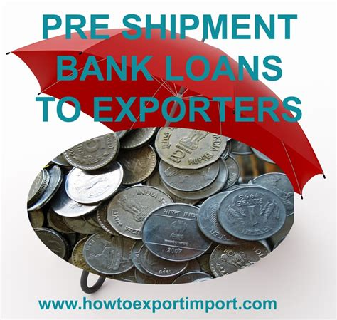 Letter Of Credit With Pre Shipment Finance packing credit pre shipment finance to suppliers for exports through other export agencies