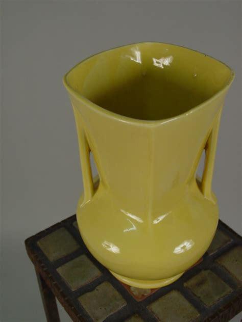 Yellow Mccoy Vase by Mccoy Yellow Vase