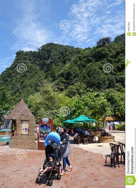 theme park vouchers 2015 atmosphere at lost world of tambun malaysia editorial