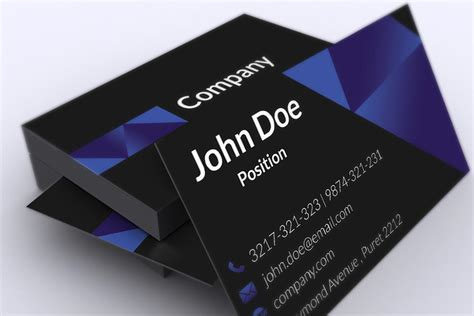 best business card templates free 130 best free psd business card templates techclient