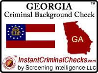 Free Criminal Background Check Ga Criminal Background Checks For Pre Employment