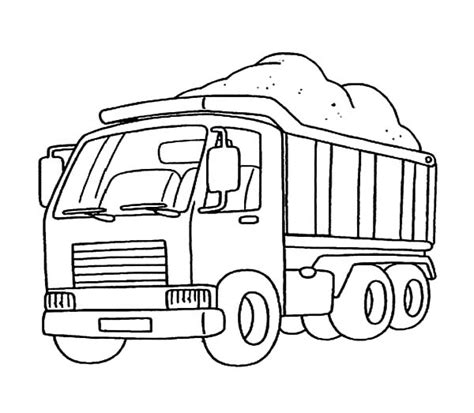 car carrier coloring page car carrier coloring pages