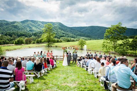 unique blue ridge mountain wedding venues  virginia