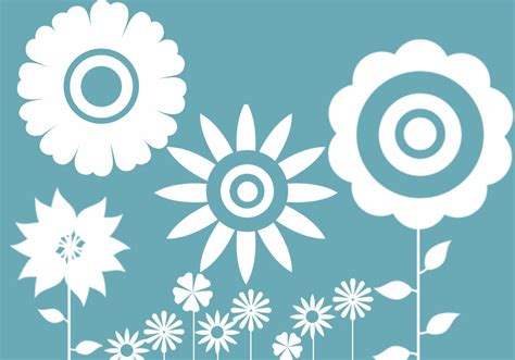 Flower Vector vector flower brushes free photoshop brushes at brusheezy