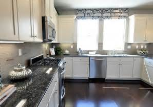 gray kitchen walls with white cabinets centsational