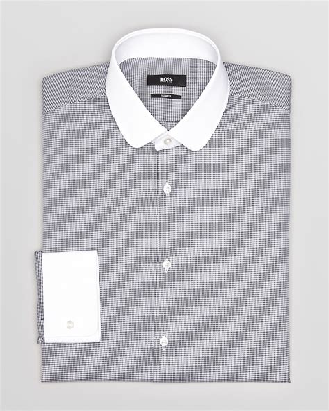 White Shirt Layer Houndstooth houndstooth dress shirts images