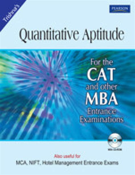 About Cat For Mba by Quantitative Aptitude For Cat And Other Mba Entrance