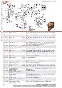 massey ferguson front axle page 44 sparex parts lists diagrams malpasonline co uk