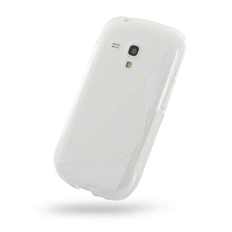 Softcase Mini 3 samsung galaxy s3 mini soft translucent s shape pattern pdair