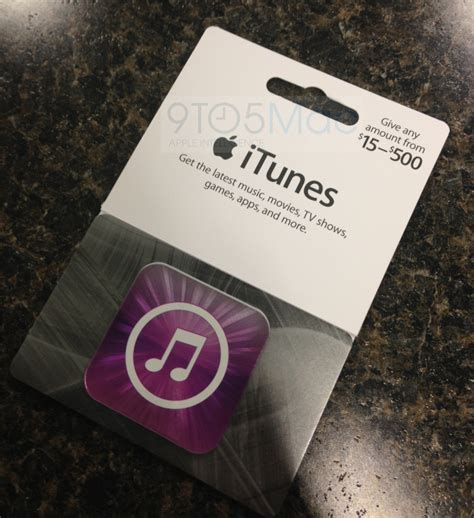 How To Load An Itunes Gift Card On Iphone - apple launches new variable itunes gift cards 15 500 at 3rd party resellers mactrast