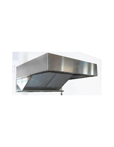 cappa cucina ristorante cappa a parete snack inox per ristorante cm 260x75x20h