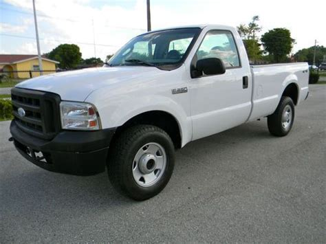 how does cars work 2012 ford f350 on board diagnostic system purchase used 2007 ford f250 f350 diesel 4x4 pickup truck only 58k original miles work truck in