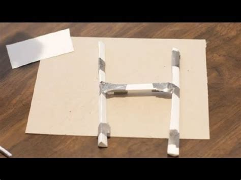 how to make a paper football goal post paper crafts