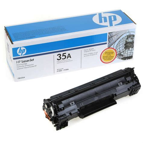review moustache hp 35a compatible toner cartridge