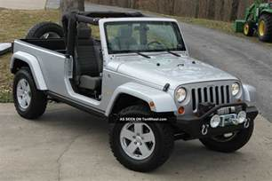 Jeep Or Truck 2007 Jeep Jk8 Truck By Owner
