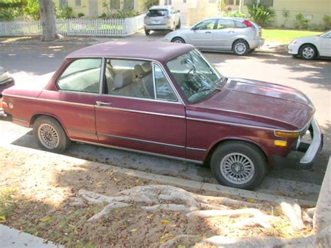 1974 bmw 2002 parts my new 1974 bmw 2002 malaga color automatic pelican