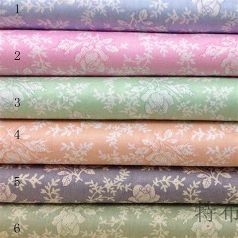 160cm 50cm 100 Cotton Cloth Handmade Quilt Diy Skin Cloth - 200 160cm new vintage floral pastoral 100 cotton
