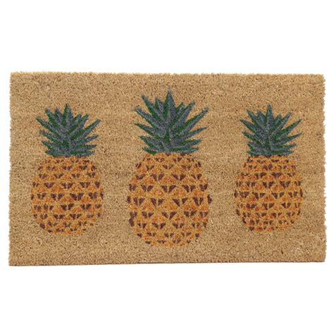 Pineapple Welcome Mat by A2z Eshop
