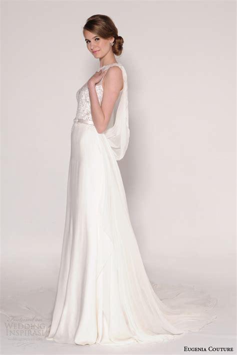 draped wedding dress eugenia couture spring 2016 wedding dresses wedding