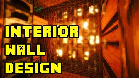 Underground Interior Design by Minecraft Cool Underground Interior Wall Design Ideas