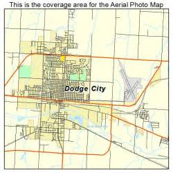 Dodge City Zip Codes Ks Aerial Photography Map Of Dodge City Ks Kansas
