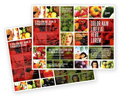 nutrition brochure template nutrition brochure template design and layout