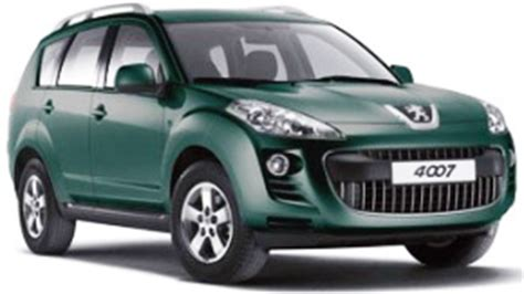 peugeot cars price in india peugeot 4007 suv price specs review pics mileage in india