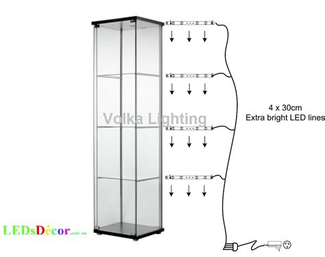 Display Cabinet Lights Led Led Lights For Glass Display Cabinets Volka Lighting Pty