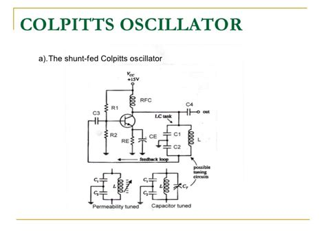 colpitts oscillator capacitor values colpitts oscillator capacitor types 28 images make an oscillator 50 300 mhz colpitts type