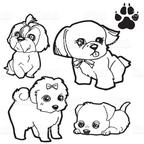 imagenes de dibujos animados para imprimir y colorear pata de perro y perro de dibujos animados para colorear