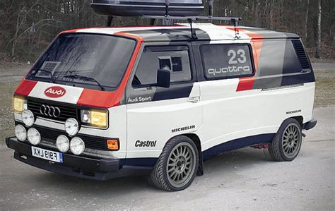 vw audi t25 quattro support vehicle for the