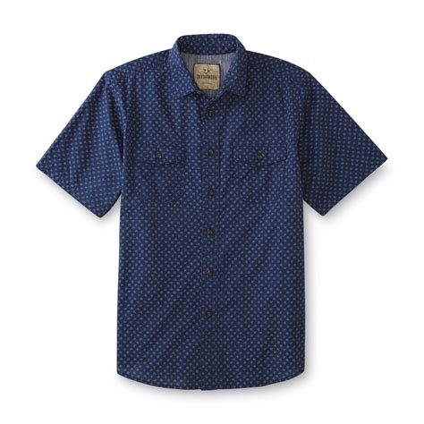 Sleeve Dotted Shirt outdoor s sleeve shirt dotted sears