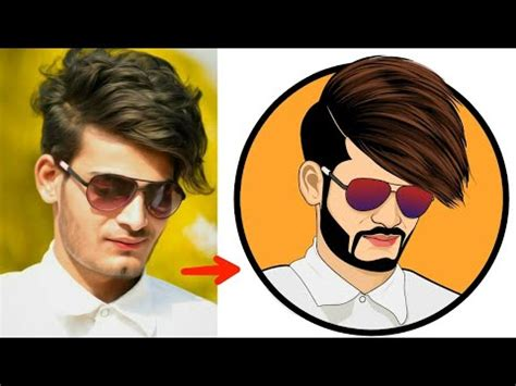 tutorial vector picsart how to make cartoon image in android create vector by