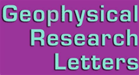 Geophysical Research Letter Abbreviation Michael E Wysession