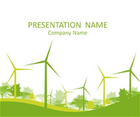 Renewable Energy Powerpoint Template Templateswise Com Green Energy Powerpoint Template