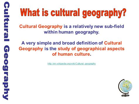 broader themes definition cultural geography cultural geography ppt video online