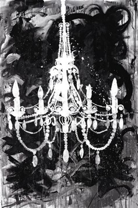 Black And White Chandelier Print Chandelier Black And White Print By Kent Youngstrom At Fulcrumgallery
