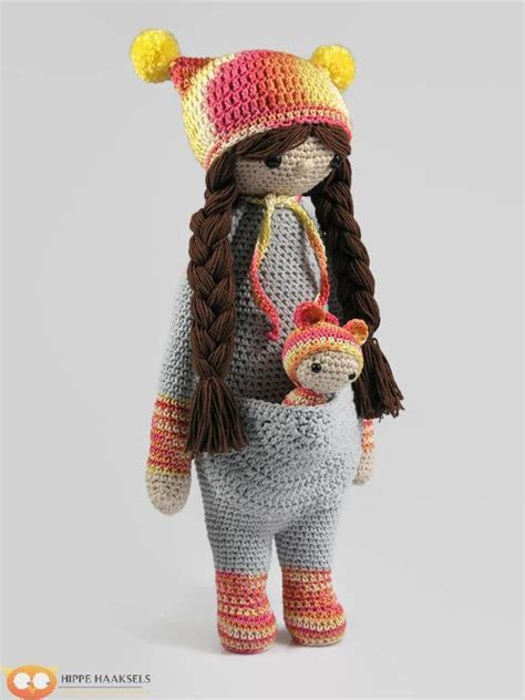 Amigurumi Lalylala lalylala doll based on the kangaroo crochet kangaroo crochet doll amigurumi doll lalylala