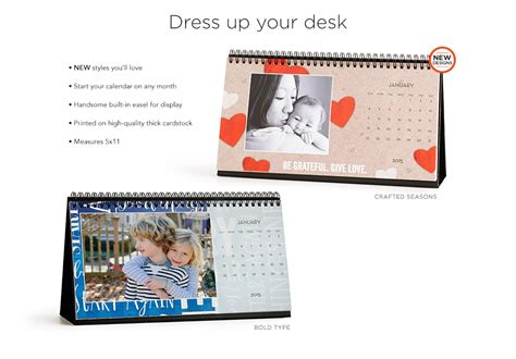 design your own desk calendar create your own 2016 picture calendar free calendar