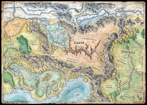 forgotten realms map mike schley forgotten realms regional maps