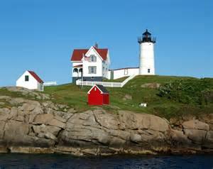 Cape Neddick Light Nubble Lighthouse Cape Neddick Light York Beach Maine