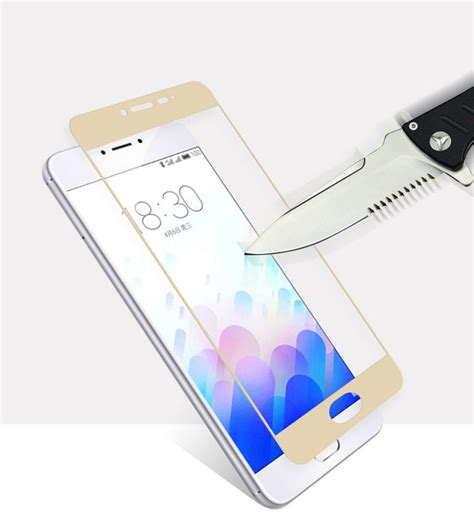 Tempered Glass Zu M3s Meizu M3 M3s Colorful Tempered Glass Screen Protection