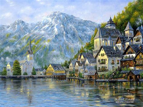 imagenes foto realistas cuadros pinturas oleos paisajes realistas impresionistas